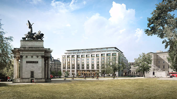 Peninsula Hotel Planned For Hyde Park Corner