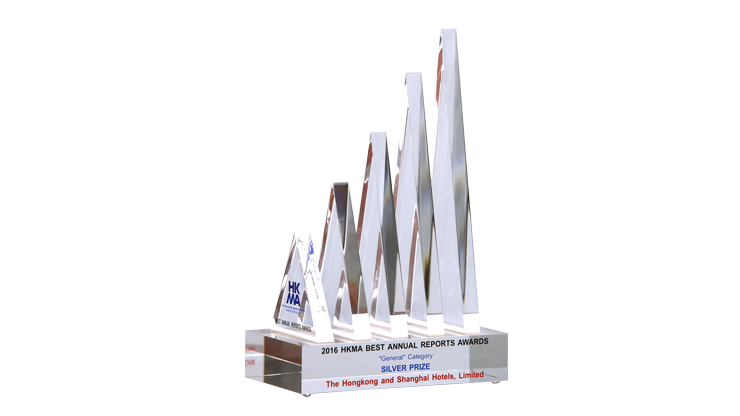 2016 Best Annual Reports Award Silver