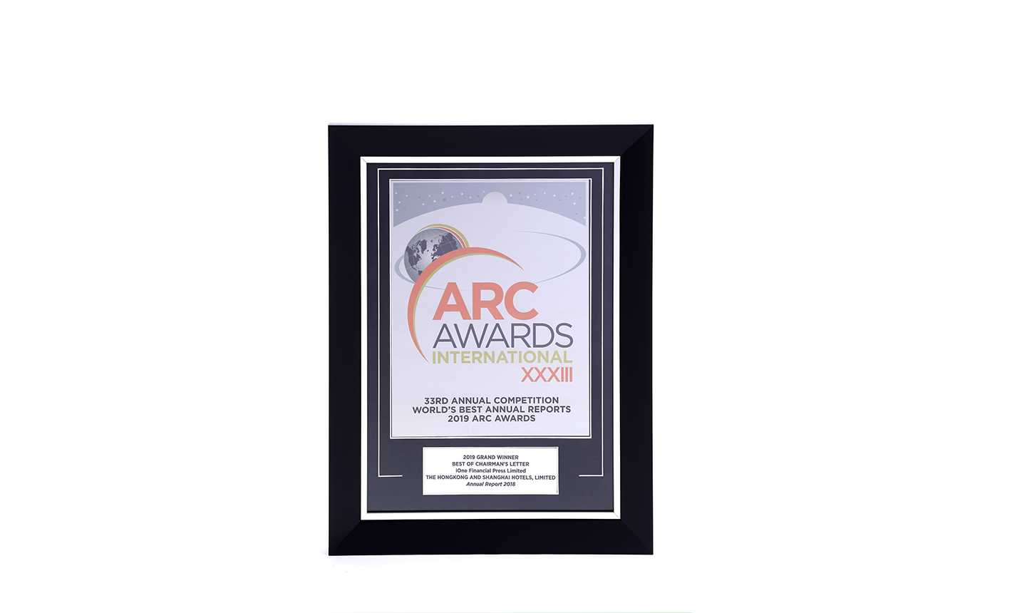 2019 ARC Best of Chairman Letter
