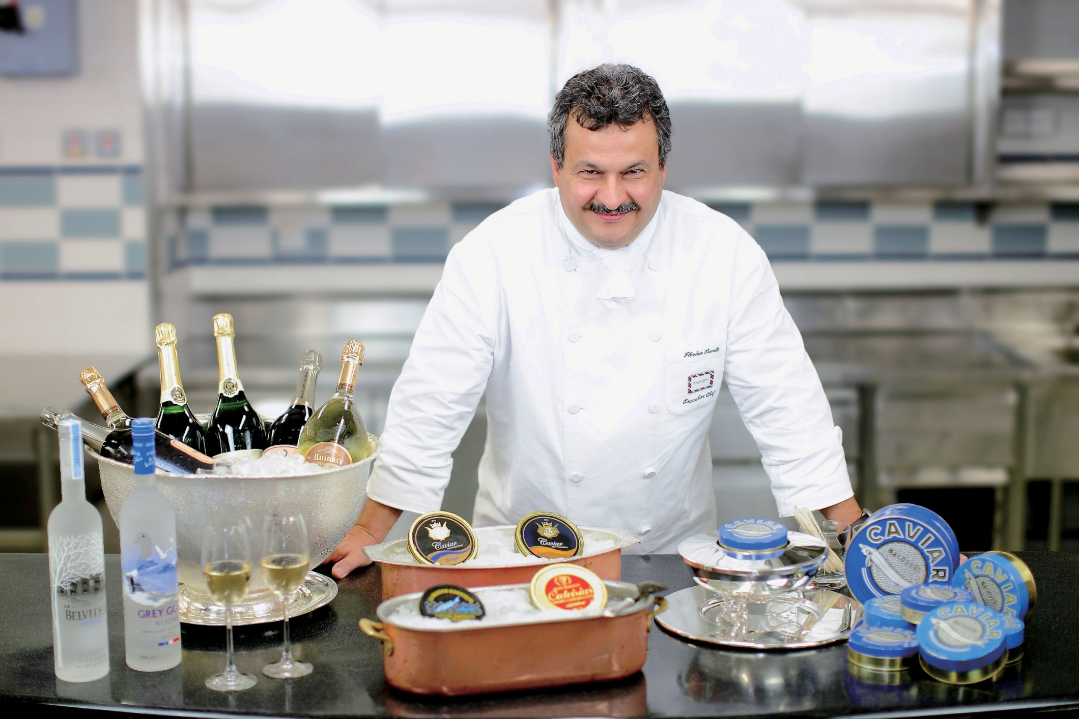 Mr Florian Trento, Group Executive Chef, The Peninsula Hotels