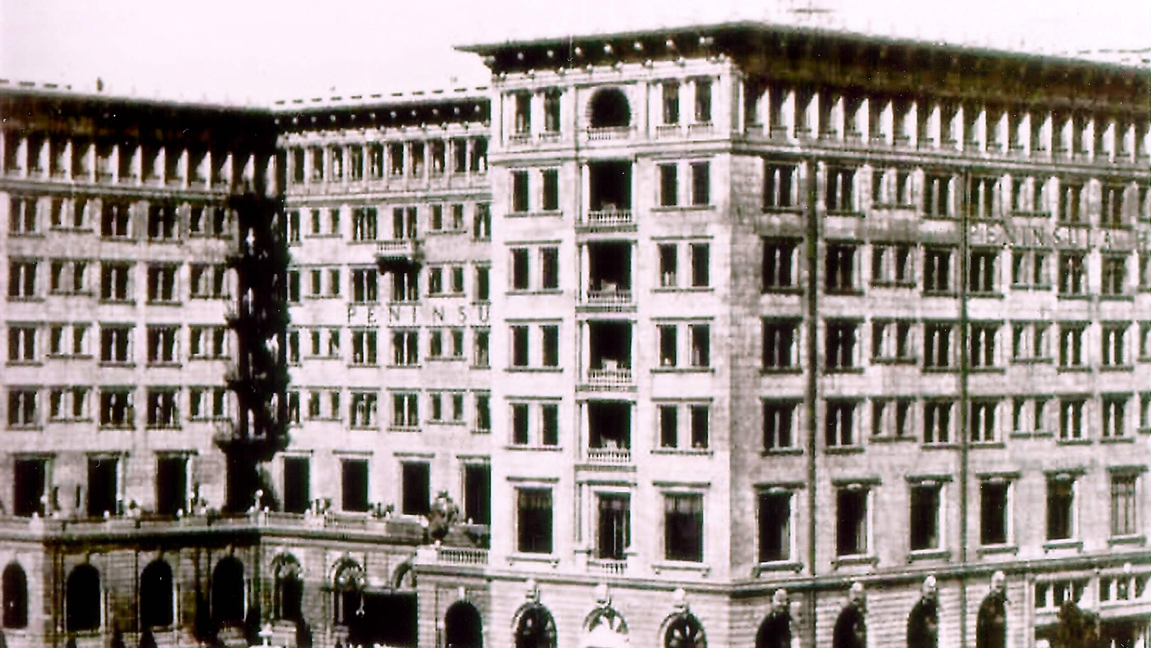 The Peninsula Hotel pictured after opening in1928