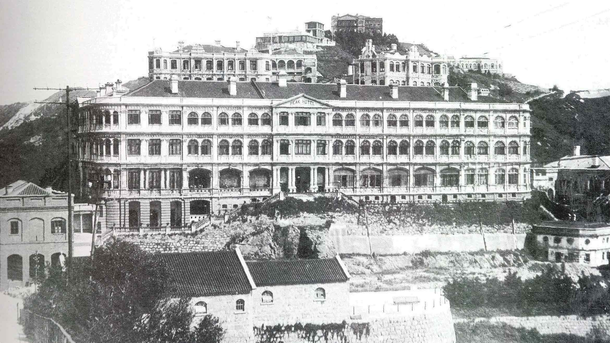 The Peak Hotel, Hong Kong, 1922