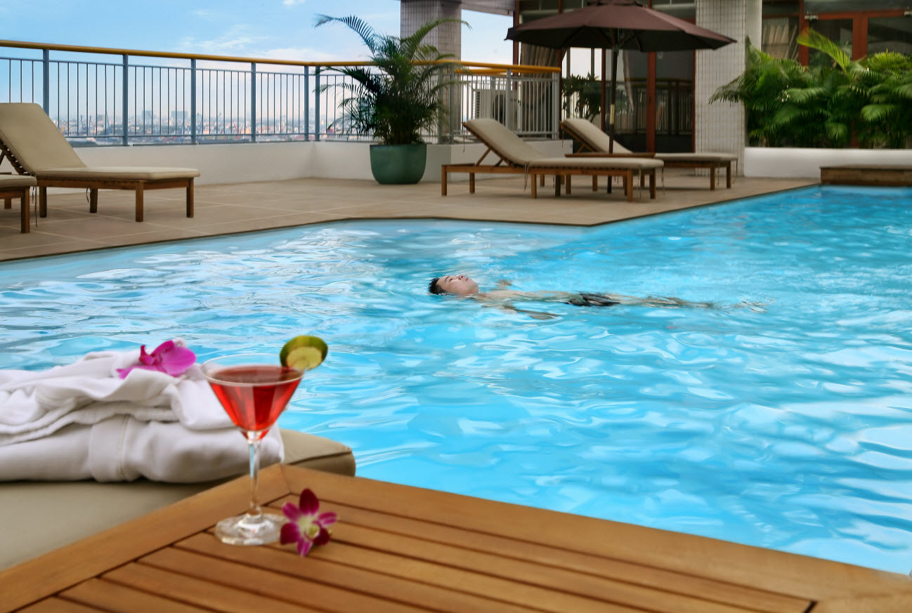 The landmark vietnam for Fitness club with swimming pool