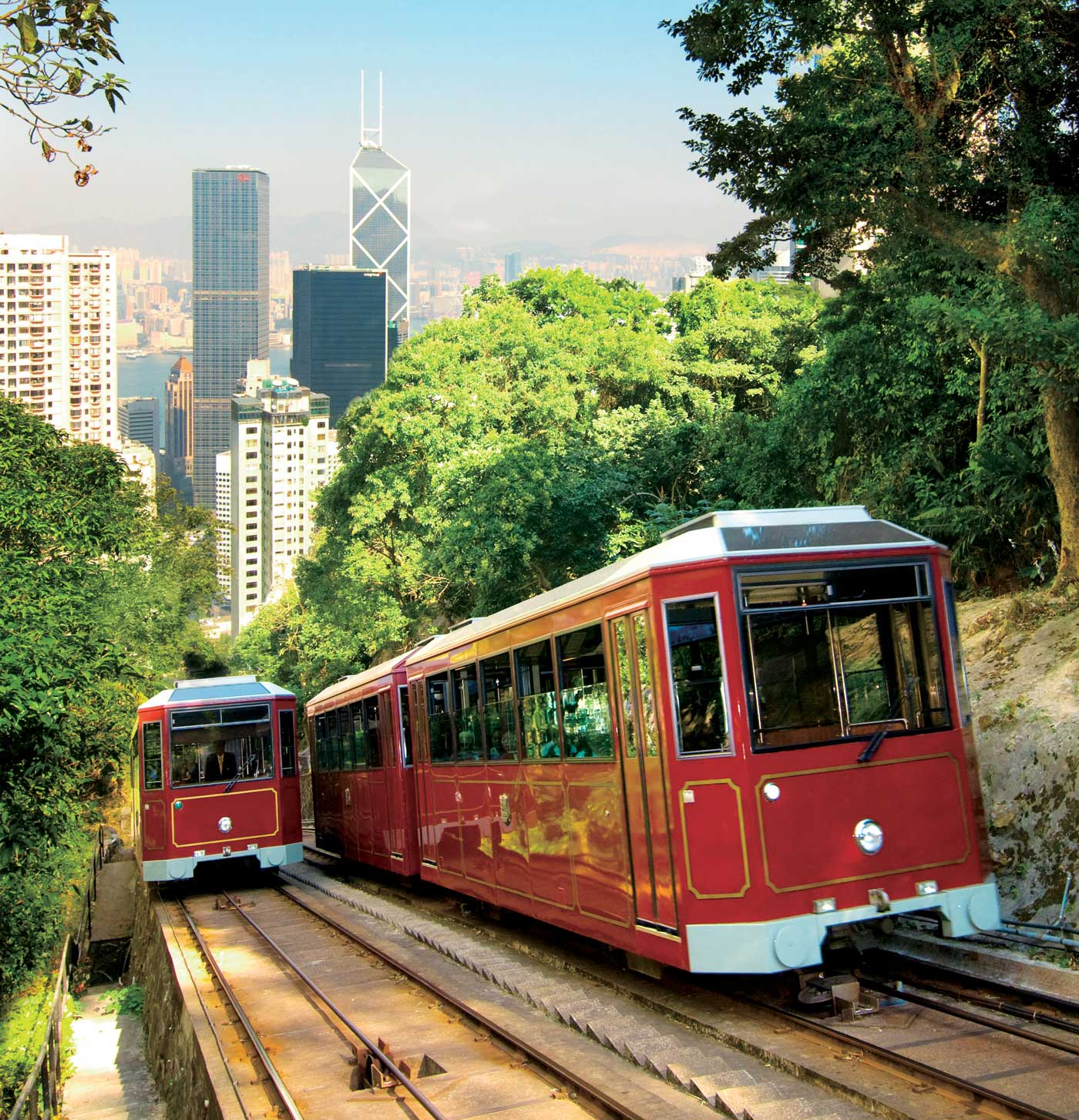 The Peak Tramways