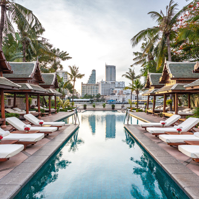 The Peninsula Bangkok The Pool