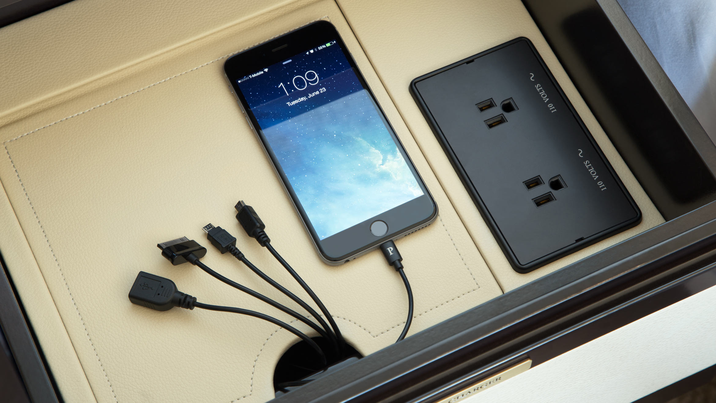 Bedside chargers